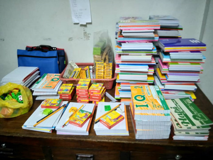 BENEFICIARIES. The drive will benefit 180 elementary and high school students from Samar and Northern Samar