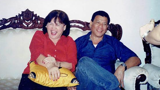 HAPPIER TIMES. Elizabeth and Rody in a photo taken Christmas 2004. Photo courtesy Duterte family
