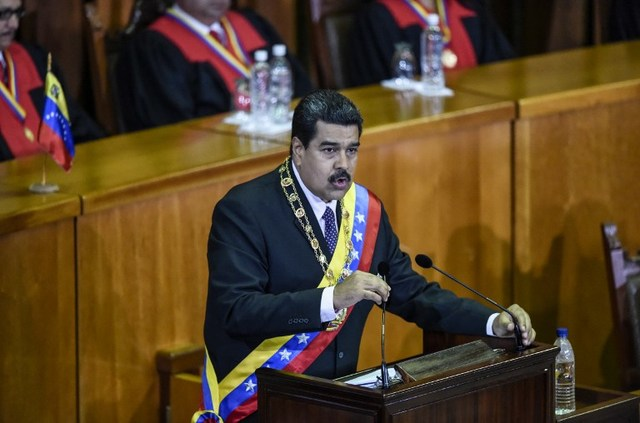 PRESSURE. Embattled President Nicolas Maduro is facing mounting pressure as opposition continues to galvanize against his rule. File photo by Juan Baretto/AFP