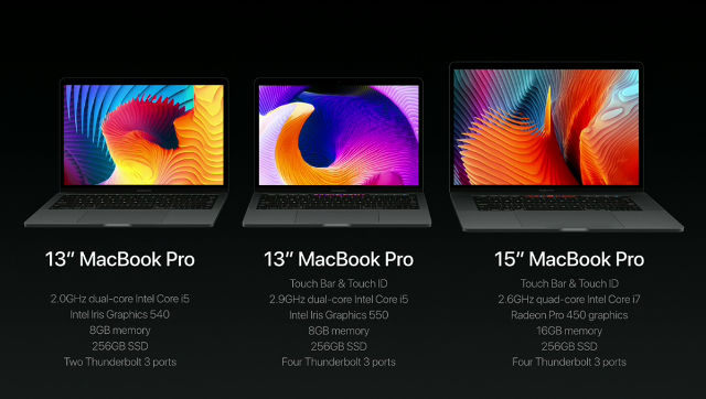 VARIATIONS ON THE MACBOOK PRO. Screen shot from livestream