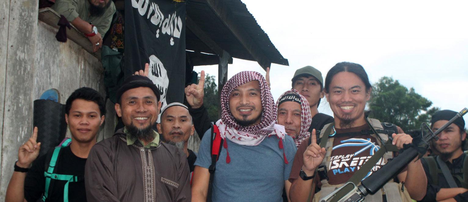 Photo: Emir of East Asia Shaykh Abu u2018Abdullah al Muhajir, aka ASG leader Isnilon Hapilon as seen in Rumiyah 10