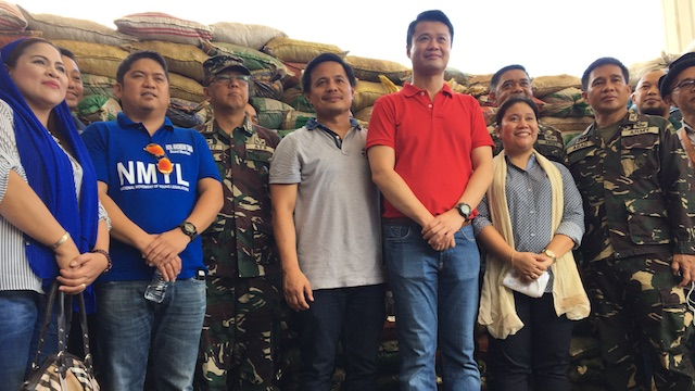 FUNDING REHABILITATION. Senator Sherwin Gatchalian visits the Lanao Del Sur provincial capitol in Marawi City. Photo by Carmela Fonbuena/Rappler