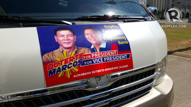 TANDEM OF CHOICE? Some in Ilocos Norte support a Duterte-Marcos tandem
