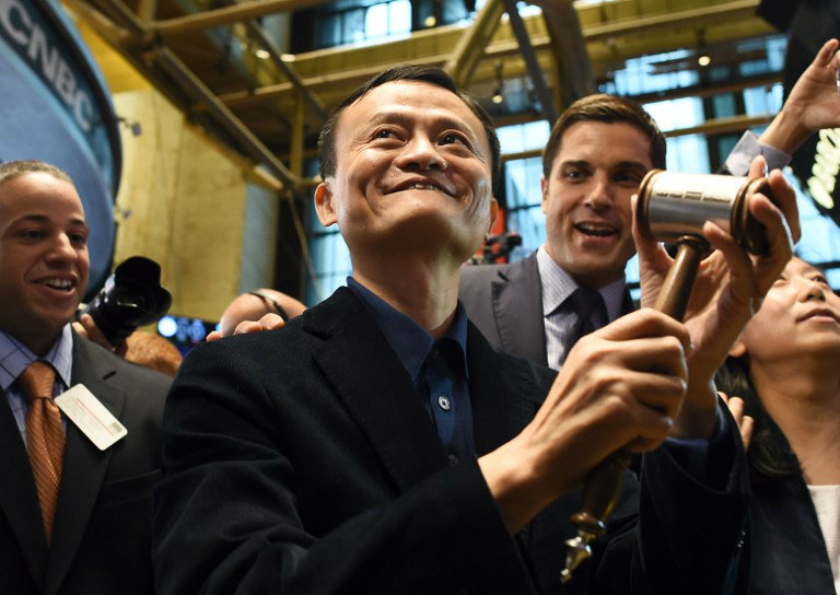 'THINKING BIG.' Chinese online retail giant Alibaba founder Jack Ma is among the speakers listed in the APEC CEO Summit on 'The Power of Thinking Big.' File photo by Jewel Samad/AFP