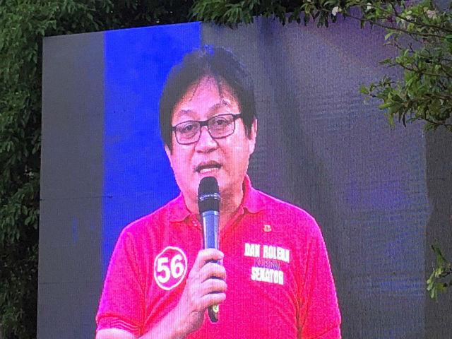 UNA BET. Former Manila councilor Dan Roleda is seeking a Senate seat in May. Photo by Mara Cepeda/Rappler