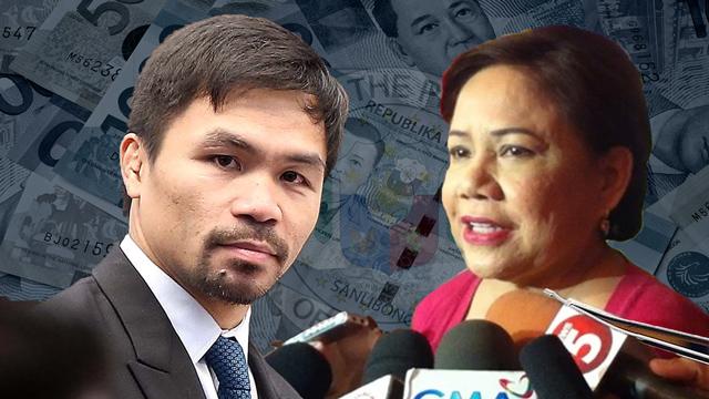 BILLIONARES' CLUB. Senators Cynthia Villar and Manny Pacquiao are the richest senators based on their latest SALN.
