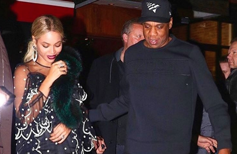 Foto dari akun Instagram Beyonce.