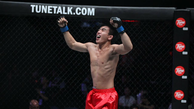 SEEKING TRIUMPH. That's what Pacio aims for with a win against Naito. Photo from ONE Championship