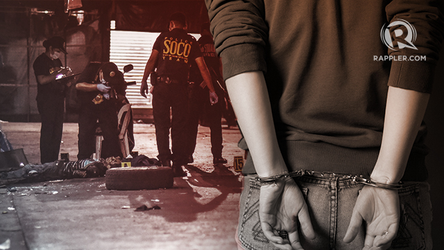 HIDING. The three suspects are arrested in Subic Freeport, 3 hours away from Manila.