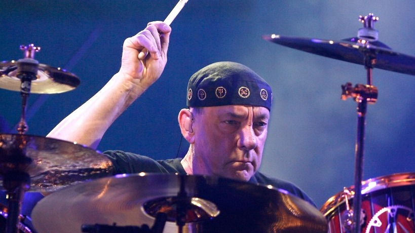 PASSED AWAY. Drummer Neil Peart of Canadian rock band Rush died at age 67. Photo by Mike Lawrie/Getty Images North America/AFP