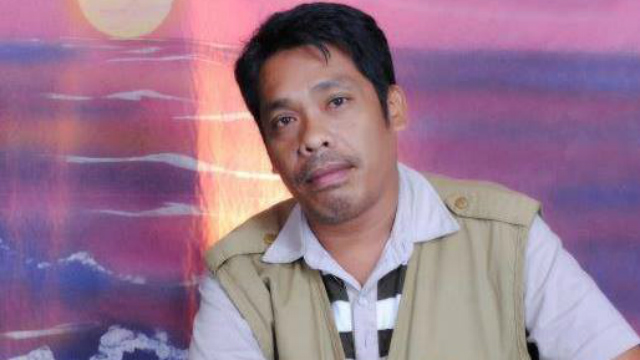 VICTIM. Edmund Sestoso was the former chairperson of the National Union of Journalists of the Philippines' Dumaguete City chapter. Photo from NUJP