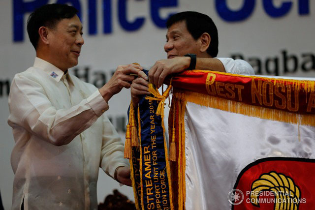 DILG OIC Undersecretary Catalino Cuy takes over the post of DDB chairman. Malacau00f1ang file photo