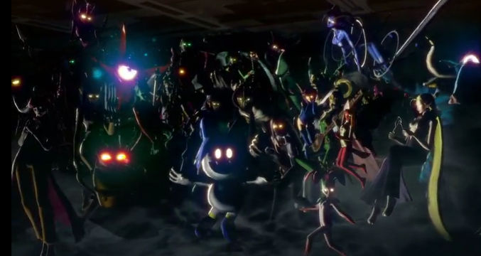 SHIN MEGAMI TENSEI. A new Shin Megami Tensei game is being developed for the Switch. Screen shot from livestream.