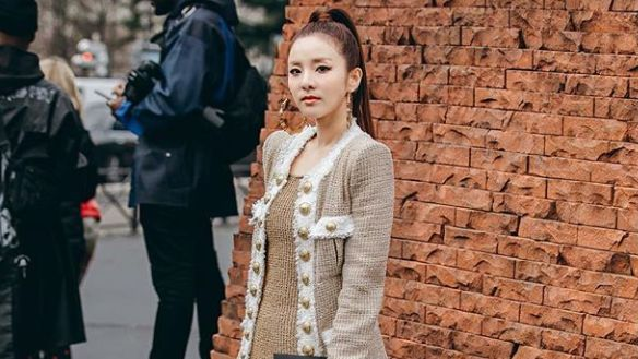 Look Sandara Park Works It At Paris Fashion Week 2019