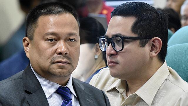 FAILED BID. Senators JV Ejercito and Bam Aquino lose their reelection bids in 2019. File photos by Angie de Silva/Rappler