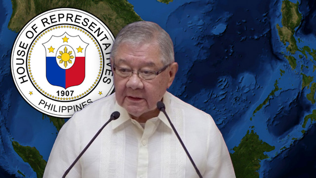NEW CHAIRMAN? Former House speaker and Quezon City 4th District Representative Feliciano Belmonte Jr is being eyed to chair the new House Committee on the West Philippine Sea.