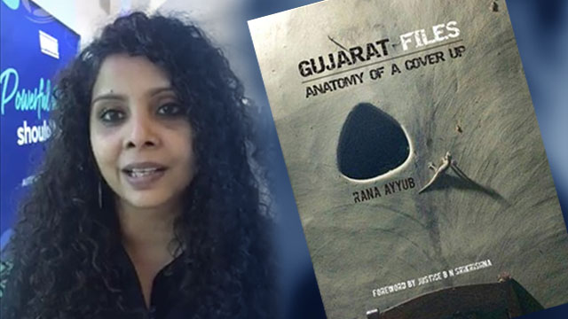 THREATS. Journalist Rana Ayyub from India is on the receiving end of threats and harassment following her book 'Gujarat Files.' Screenshot from Facebook Live