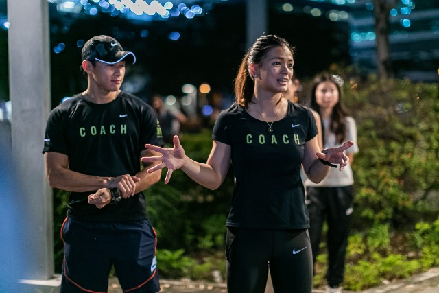 JUST... DO IT. Nike+ Run Club coach Ian Banzon says running is for everybody. Photo courtesy of Nike Philippines