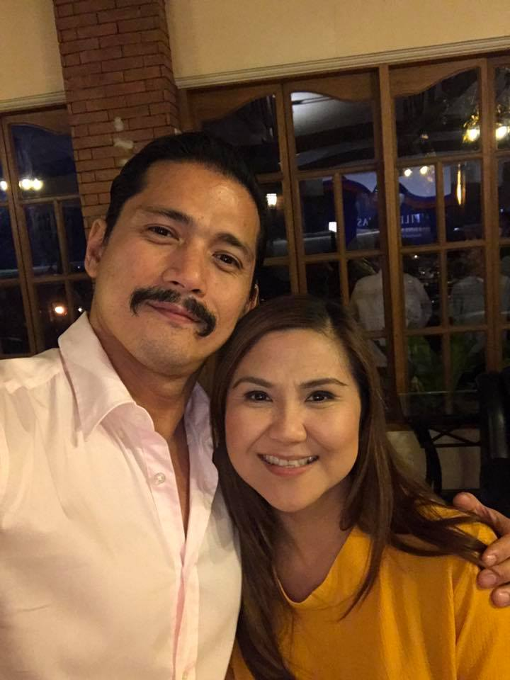 WITH THE 'BAD BOY.' Duterte supporter and actor Robin Padilla takes a picture with Bagong Henerasyon Representative Bernadette Herrera-Dy. Photo from Dy