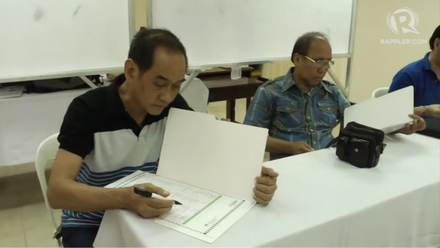 Protect your vote using the Comelec secrecy ballot.