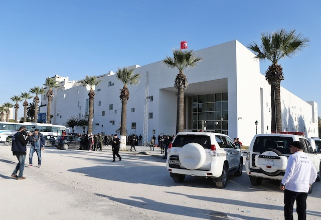 UNDER SIEGE. A general view of the scene of an attack by gunmen targeting tourists at the National Bardo Museum, Tunis, Tunisia, 18 March 2015. File photo by Stringer/EPA
