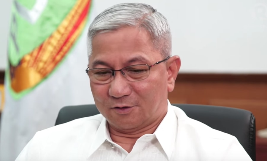 SORRY. PDEA chief Aaron Aquino apologizes. Rappler screengrab