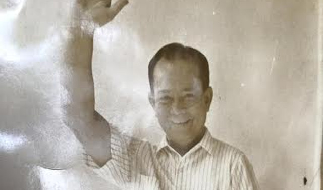 DUTERTE'S DAD. Vicente Rodrigo was governor of the undivided Davao in the 1950s. Photo courtesy of Editha Caduaya/Rappler
