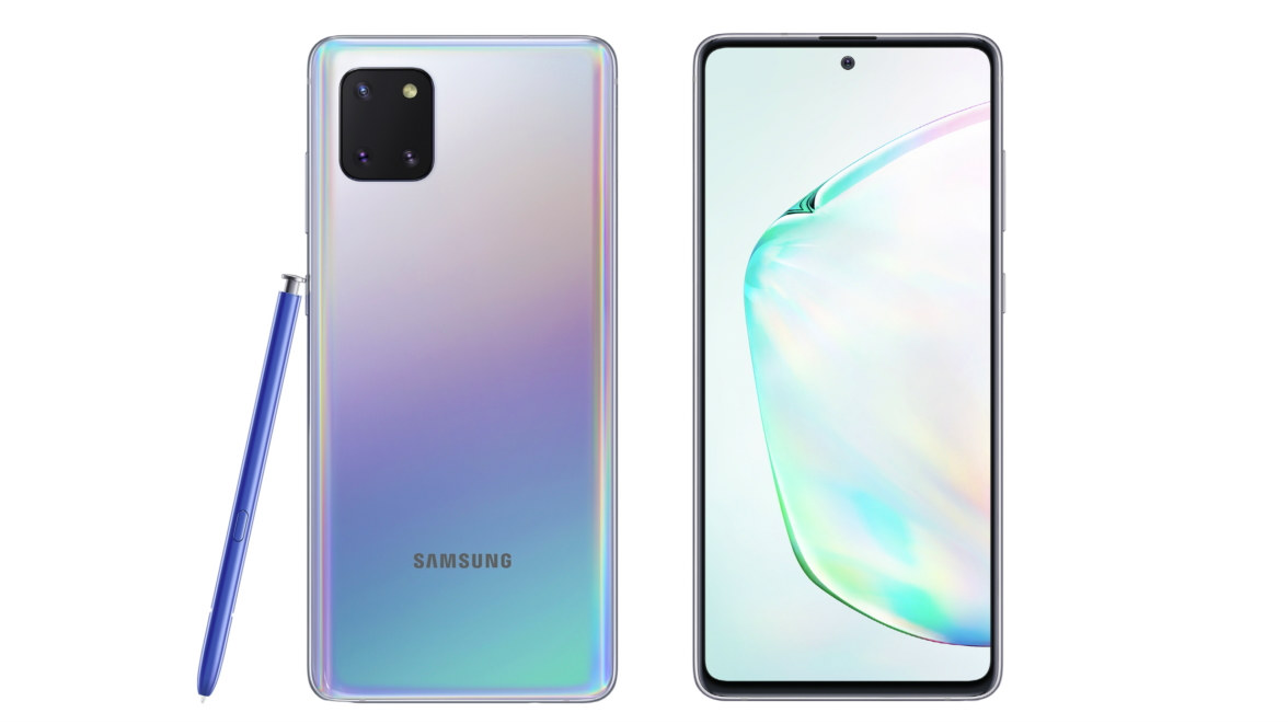 NOTE 10 LITE. Photo from Samsung