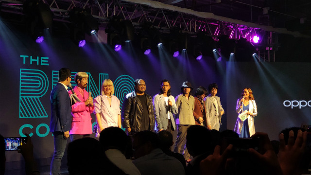 RENO COLLECTIVE. OPPO introduces its new brand ambassadors, artists from different fields. Photo by Gelo Gonzales/Rappler