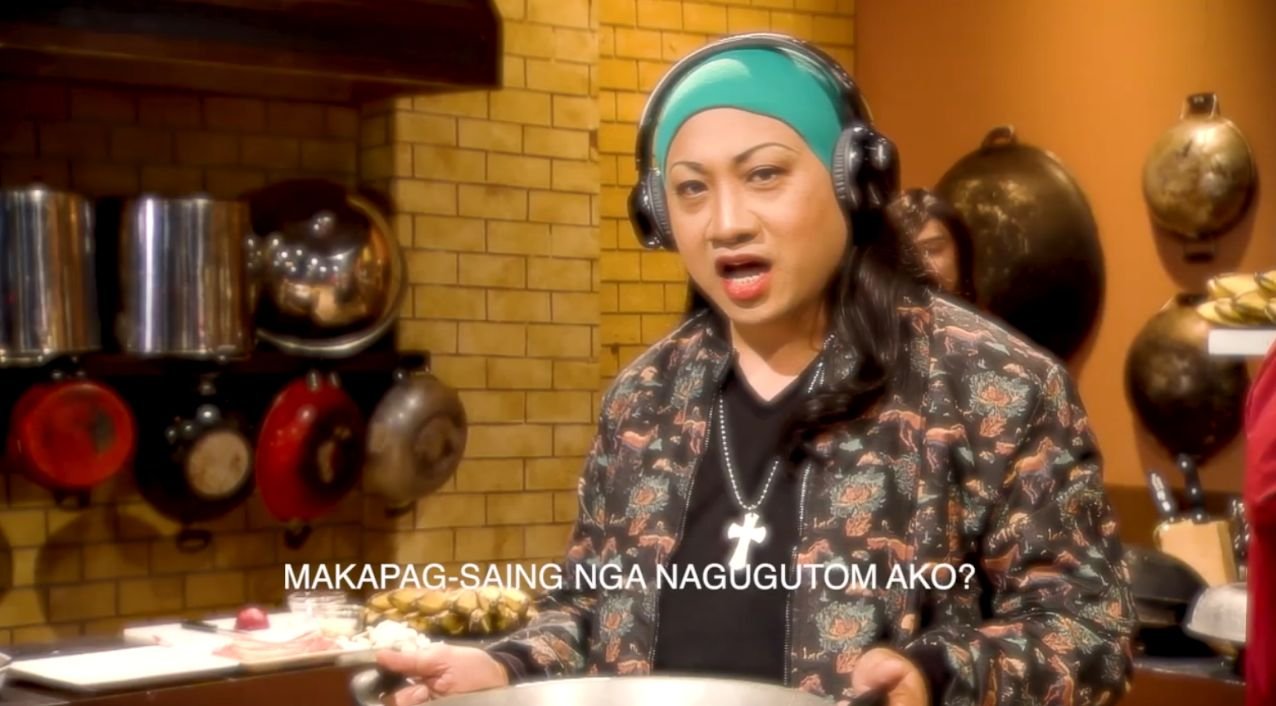 UDD SPOOF. 'Eat Bulaga' comedian Michael V takes on a new role. Screenshot from Eat Bulaga's Facebook page