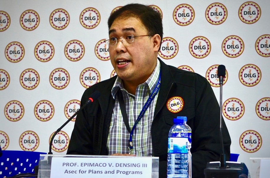 NOT JUST USERS. DILG Asec Epimaco Densing III says they will now 'pursue' local officials involved in the illegal drug trade. Photo by Rambo Talabong/Rappler.com