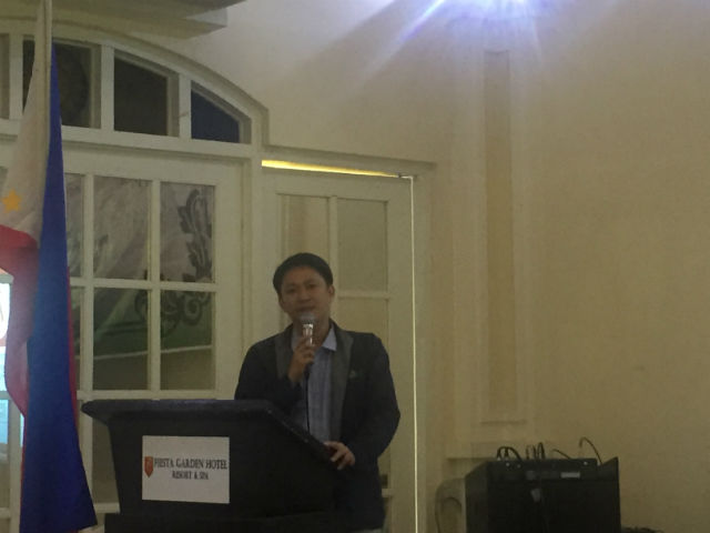 STIGMA. PNAC Director Dr Joselito Feliciano says stigma aroung HIV-AIDS hinders people from getting proper information on the illness and how it can be prevented. Photo by Sofia Tomacruz/Rappler