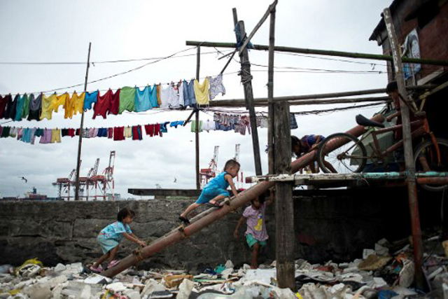 POVERTY. The Juvenile Justice Welfare Council says majority of crimes committed by CICLs were related to poverty. Photo by Noel Celis/AFP