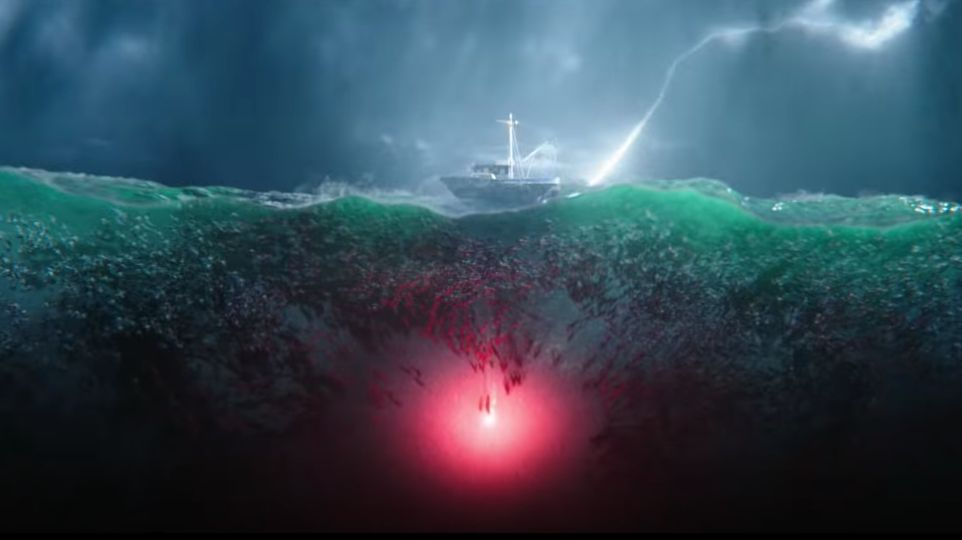 THE TRENCH. The 'Aquaman' spinoff sequel will revolve around the film's deadly amphibious creatures. Screenshot from Warner Bros Pictures' Youtube page