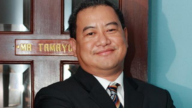 SERENO IMPEACHMENT. Lawyer Dino Tamayo is one of Sereno's lawyers. Photo from Poblador Bautista u0026 Reyes website