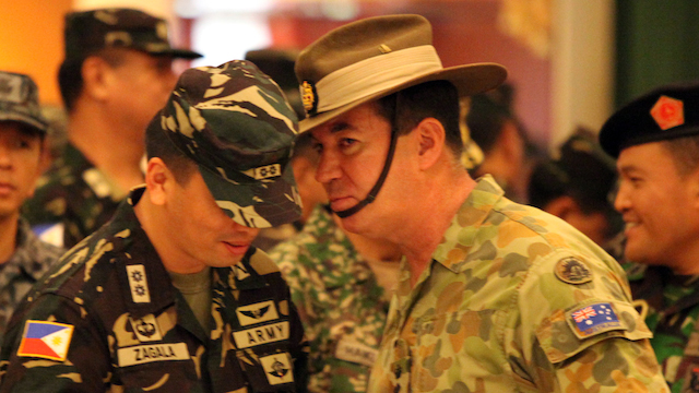 FROM OBSERVERS TO PARTICIPANTS. Australian defense forces also join the Balikatan 2014 war games