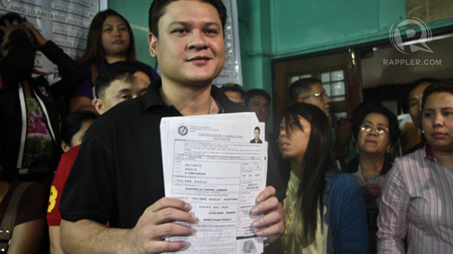 REELECTION. Davao City Vice Mayor Paolo seeks reelection in 2016. File photo by Karlos Manlupig