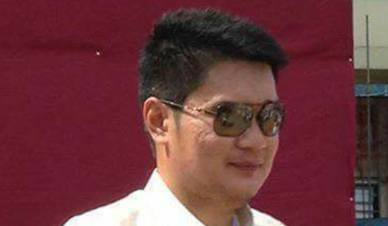 ABDUCTED. Jolo Councilor Ezeddin Tan is abducted by suspected Abu Sayyaf-Ajang Ajang members. Sourced photo
