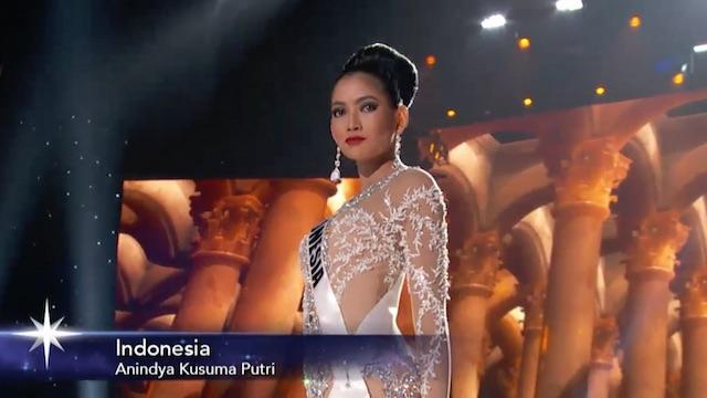 Foto screenshot dari Youtube/Miss Universe