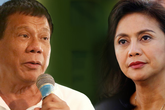 DUTERTE'S IRE. President Rodrigo Duterte belittles Vice President Leni Robredo's ability to lead the country