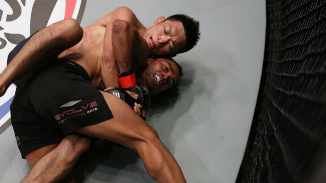 SUBMISSION SPECIALIST. Yoshitaka Naito believes that he has the slight advantage in the grappling department against Joshua Pacio. Photo from ONE Championship