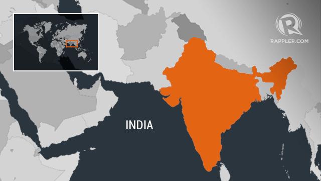 Locator map of India