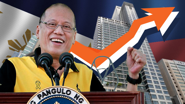 PROGRESS. President Aquino will leave an economy that grew an average of 6.1% during his time in charge.