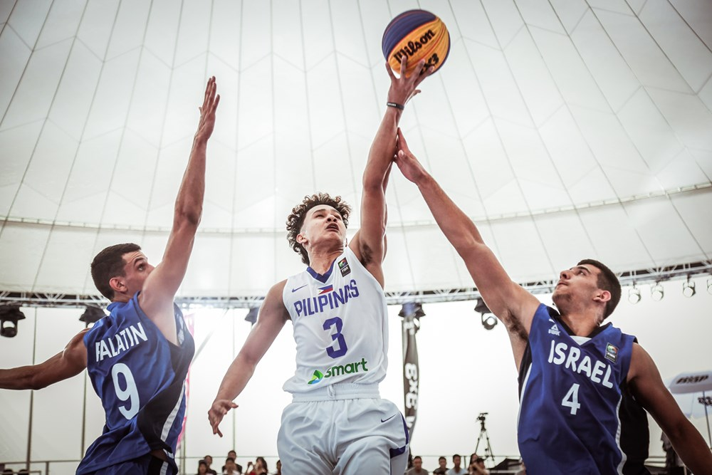 HISTORY. Regardless of the outcome in Philippines' game against Belgium, the boys have already made the country proud as they are the first to make it to the quarterfinals in the FIBA 3x3 Word Cup. Photo by FIBA.com