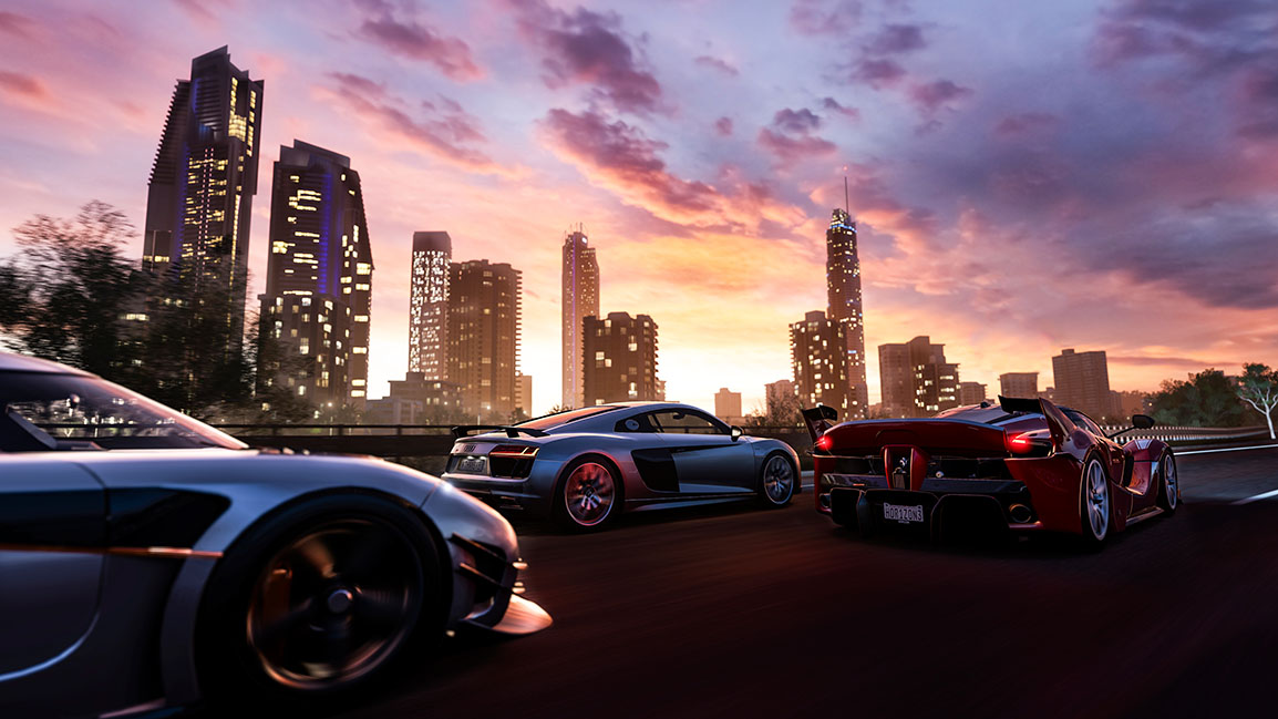 FORZA HORIZON 3. Experience a world with no traffic in the driving video game of your dreams. Image from Forza Horizon 3 website.