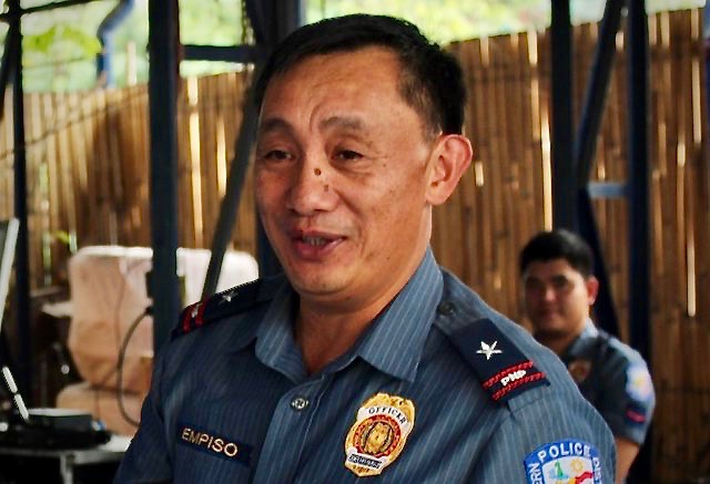 NEW SAF CHIEF. Amando Empiso assumes as the new chief of the PNP's elite Special Action Force. Photo from NCRPO-Northern Police District