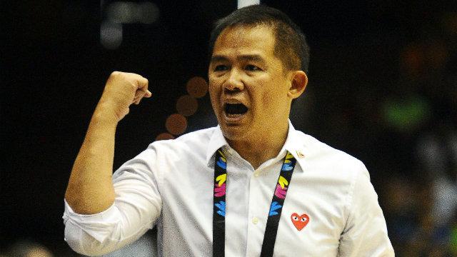 BACK AS HEAD COACH. Chot Reyes returns as Gilas Pilipinas head coach. File photo from FIBA.com
