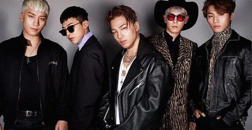 Foto dari instagram G-Dragon.