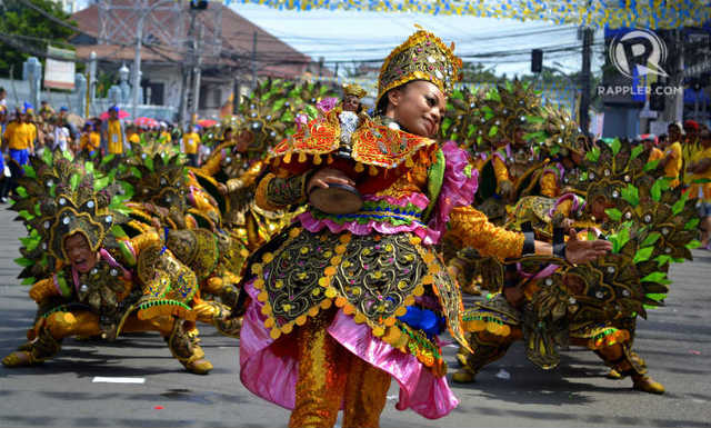GRAND. Sinulog is known for its magnificent street parades. File photo by Jona Branzuela Bering/Rappler