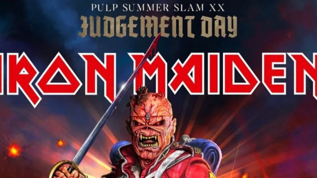HEADLINER. English heavy metal band Iron Maiden is coming to Manila in May 2020. Photo from PULP Live World's Facebook page